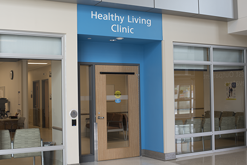 Healthy living clinic